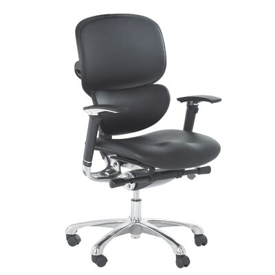Ergonomics 4 Work Wave Mid-Back Executive Chair with Lumbar Support