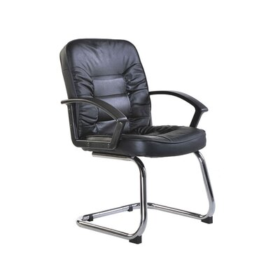 Ergonomics 4 Work Lunar Leather Faced Visitor Chair