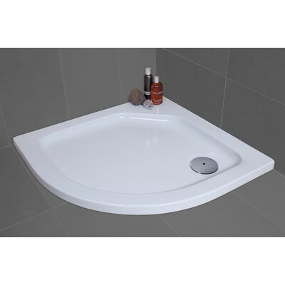 Bathroom Origins Urban Shower Tray in White