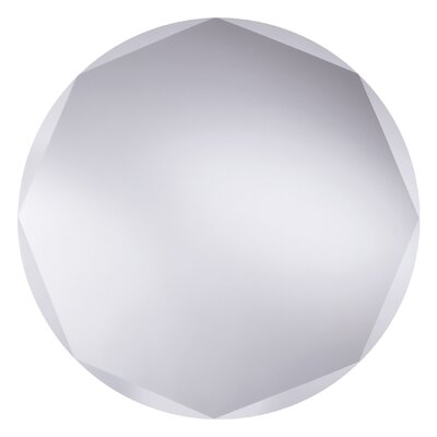 Bathroom Origins Circle Edge Mirror