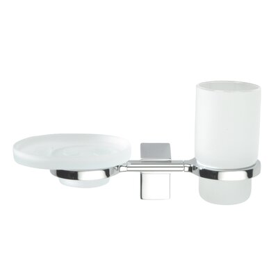 Sonia Eletech 2 Piece Tumbler and Soap Dish Set