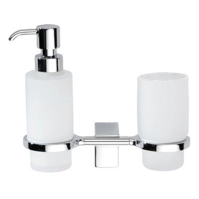 Sonia Eletech 2 Piece Tumbler and Soap Dispenser Set