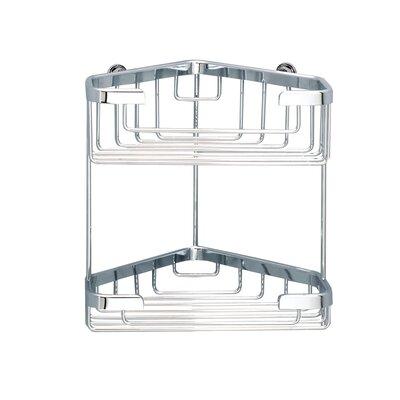 Sonia Brass Shower Shelves