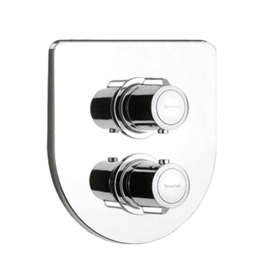 Ramon Soler Thermoarola Twin Concealed Shower Valve with diverter