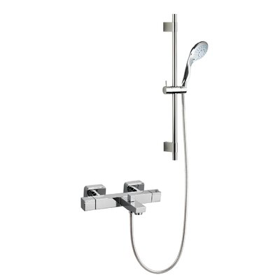 Ramon Soler Thermokuatro Exposed Thermostatic Bath Shower Mixer