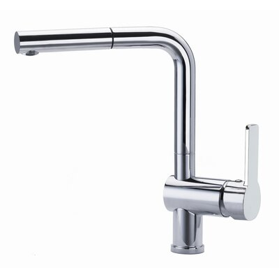Ramon Soler RS-Q KSingle Handle Surface Mounted Monobloc Mixer Tap with Pull Out Spout
