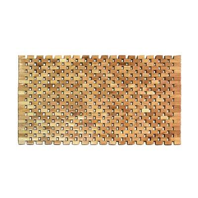 Vasic Teak Rectangular Shower Mat