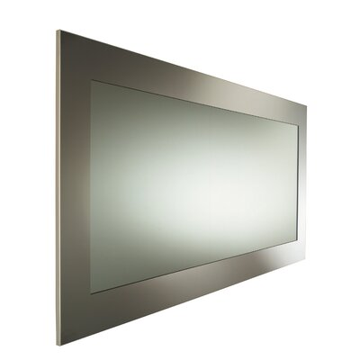 Urban Urban Steel Rectangular Frame Mirror