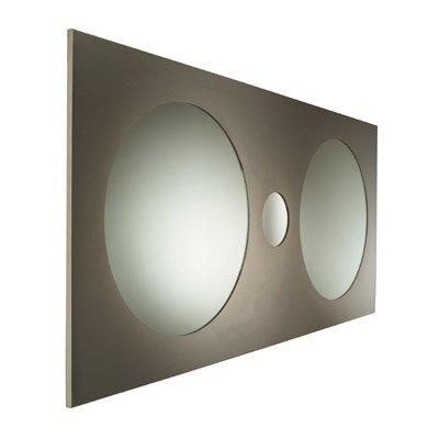 Urban Urban Steel Double Round Frame Mirror
