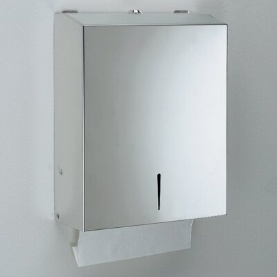 Gedy Hotellerie Metal Drill & Screw Mounted Hand Towel Dispenser