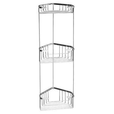 Gedy Metal Wall Mounted Shower Caddy