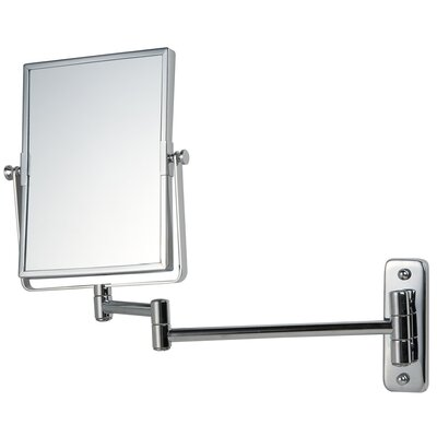Gedy Reversable 2x Magnifying Wall Mirror