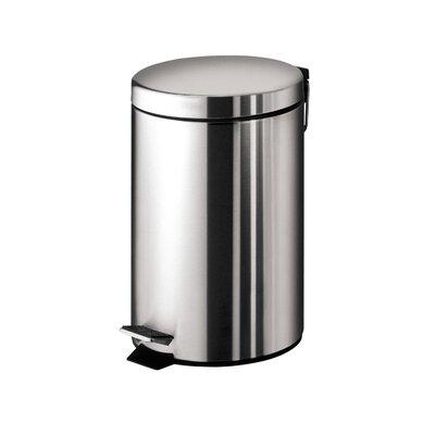 Gedy 3-Litre Round Pedal Rubbish Bin