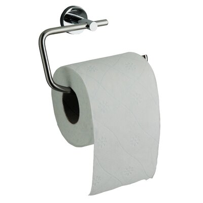 Gedy Naxos Wall Mounted Open Toilet Roll Holder