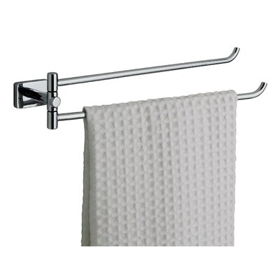 Gedy Minnesota 34.5cm Wall Mounted Double Towel Rail
