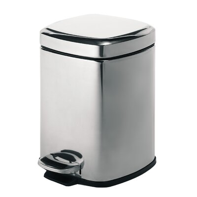 Gedy 5-Litre Pedal Bin Square