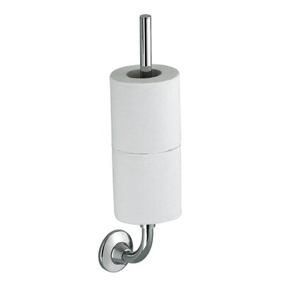 Gedy Ascot Wall Mounted Double Spare Toilet Roll Holder