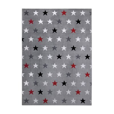 EspritHome Cosmic Glamour Grey Indoor and Outdoor Rug