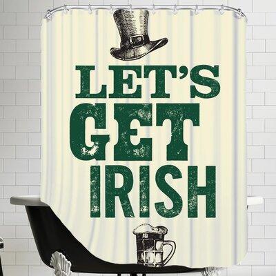 Let's Get Irish Shower Curtain