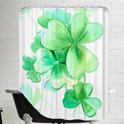 Shamrock Shower Curtain