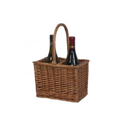 Willow Direct Ltd 2 Bottle Wine Picnic Basket