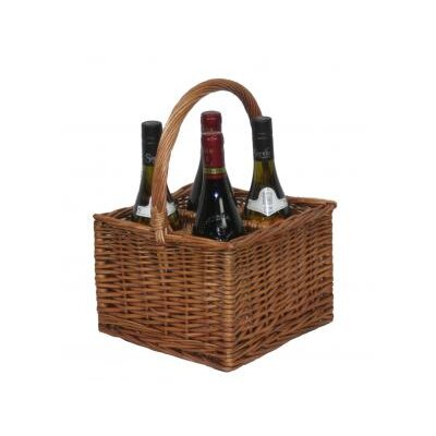 Willow Direct Ltd 4 Bottle Wine Picnic Basket