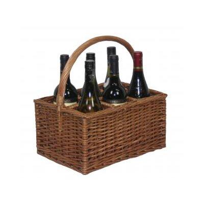 Willow Direct Ltd 6 Bottle Wine Picnic Basket