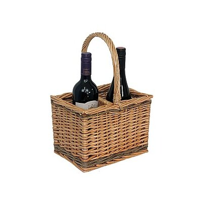 Willow Direct Ltd 2 Bottle Wine Picnic Basket