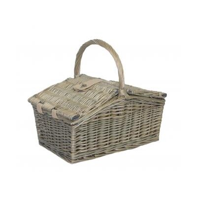 Willow Direct Ltd Double Lidded Picnic Basket