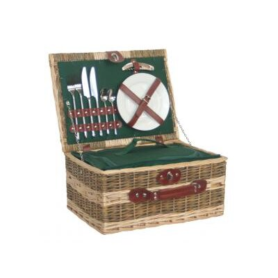 Willow Direct Ltd Picnic Basket with Removable Cooler