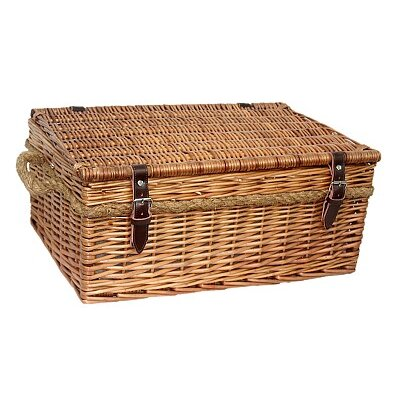 Willow Direct Ltd Deluxe Tartan Picnic Basket