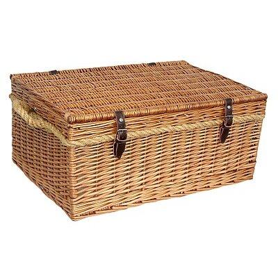 Willow Direct Ltd Deluxe Tartan Picnic Basket