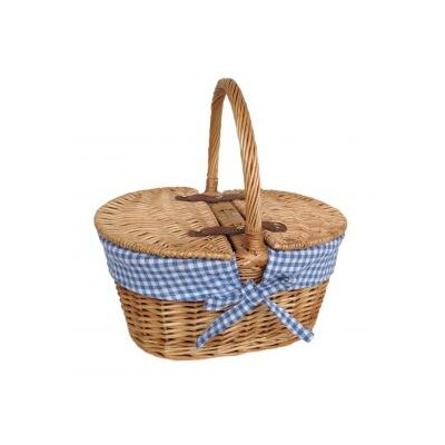 Willow Direct Ltd Child's Lined Lidded Picnic Basket