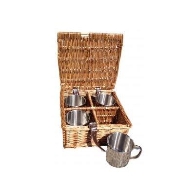 Willow Direct Ltd 4 Mug Picnic Basket