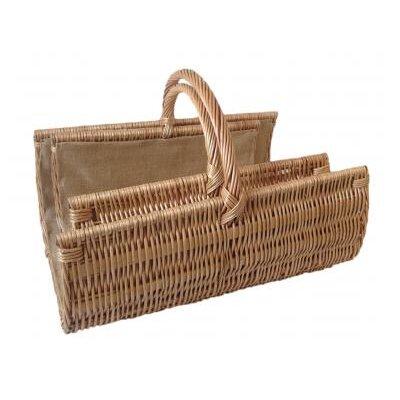 Willow Direct Ltd 2 Piece Scoop Open End Log Basket Set