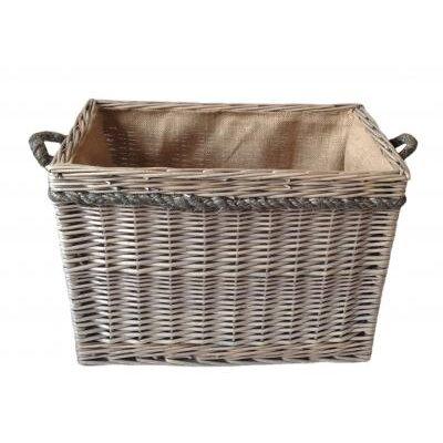 Willow Direct Ltd Rope Handled Log Basket