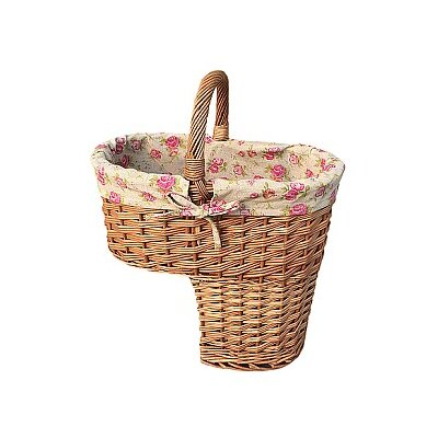 Willow Direct Ltd Stair Basket with Rose Lining