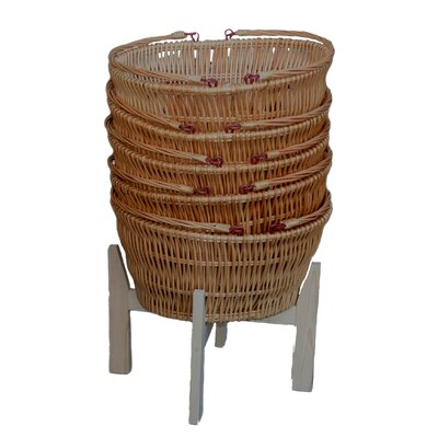 Willow Direct Ltd Chatsworth Market Basket Shopper Stand