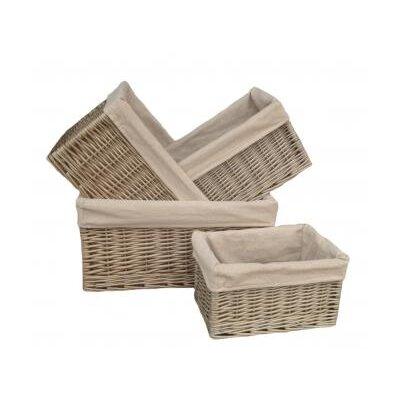 Willow Direct Ltd 4 Piece Storage Basket Set