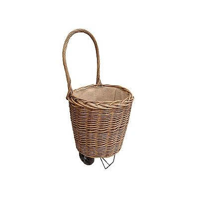Willow Direct Ltd Log / Shopping Basket with Wheel