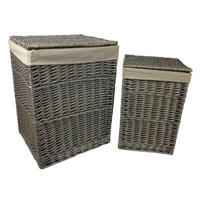 Willow Direct Ltd 2 Piece Laundry Basket Set