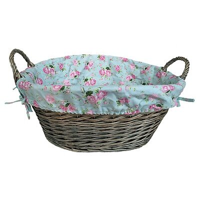 Willow Direct Ltd Laundry Basket with Cottage Rose Lining