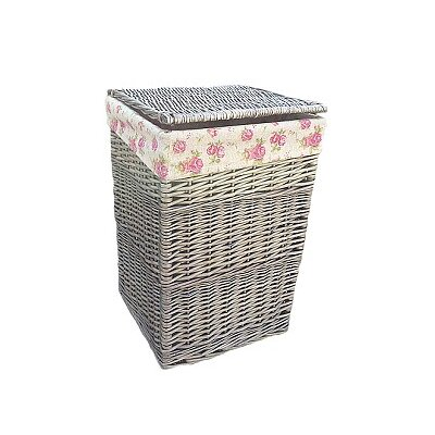 Willow Direct Ltd Laundry Basket with Garden Rose Lining