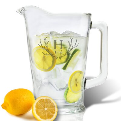 Maximo 60 Oz. Pitcher Letter: S
