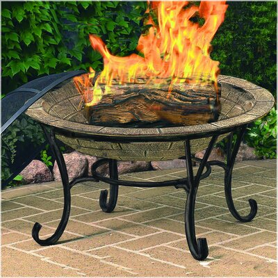 Cast Iron Wood Burning Fire Pit