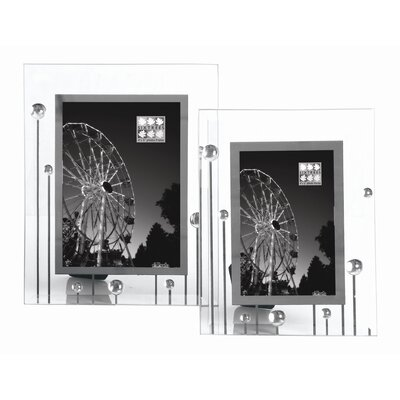 Sixtrees Hurley 2 Glass Mirror Buds Photo Frame