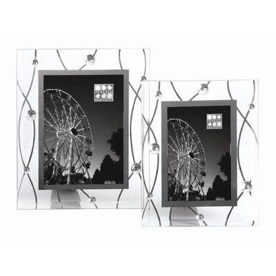 Sixtrees Hurley 4 Glass Mirror Streamers Photo Frame