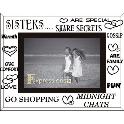 Sixtrees Moments Sisters Picture Frame
