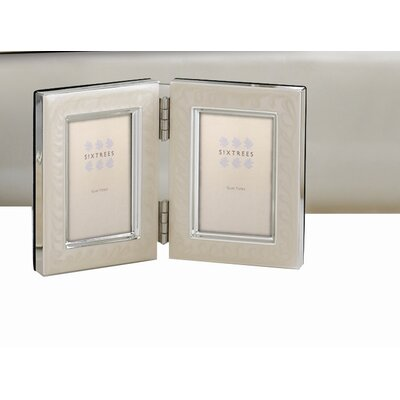 Sixtrees Zurich Hinged Double Picture Frame