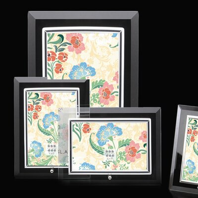 Sixtrees Flat Bevelled Vertical Glass Photo Frame
